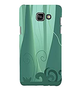 printtech Jungle Trees Abstract Back Case Cover for Samsung Galaxy A3 (2016)