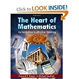 The Heart of Mathematics: An Invitation to Effective Thinking, 3rd Edition Binder Ready Version with Binder Set by William F. Burger (2009-12-23)