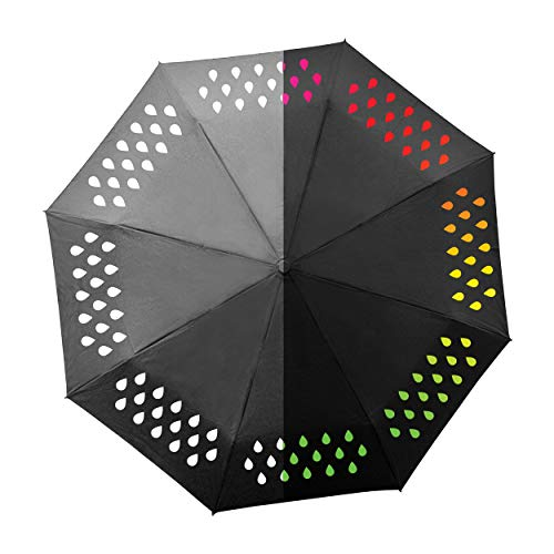 SUCK UK SK UMBRELLA2 - Paraguas Que Cambia Color