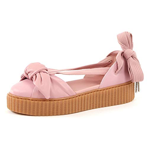 sports shoes a84f5 86484 BUTY PUMA X FENTY RIHANNA BOW CREEPER SANDAL 365794 01 - 40