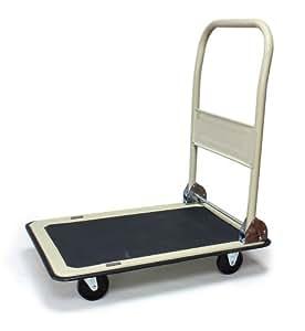 Chariot de manutention - 150 kg - siguret concept - poignée rabattable