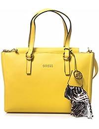 Guess - Bolso al hombro para mujer amarillo amarillo