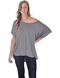 7bfb2be114491 ... Wet Look PVC Party Crop Top T Shirt · £2.99. 4 out of 5 stars 1 ·  Mymixtrendz® Women Ladies Oversized Baggy Stretchy Long Sleeve High Low Dip  Dipped Hem ...