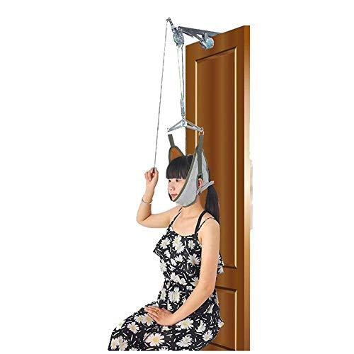 Cervical Traction Kit über der Tür Neck Traction Device Neck Stretcher für Nackenschmerzen Relief Door Cantilever Frame (Traction Kit Cervical)