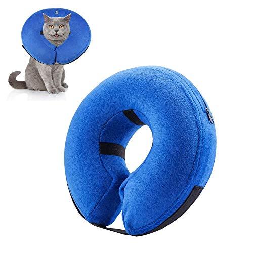 KOBWA Collar Hinchable para Mascotas