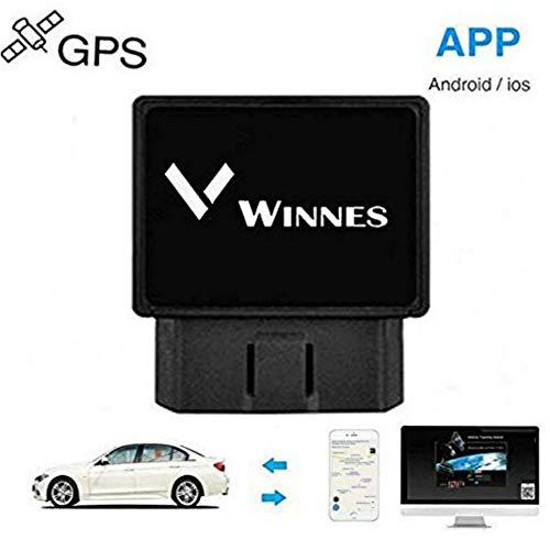 Winnes Localizador Tracker GPS gsm GPRS para Vehículos Coche Moto Control Remoto...