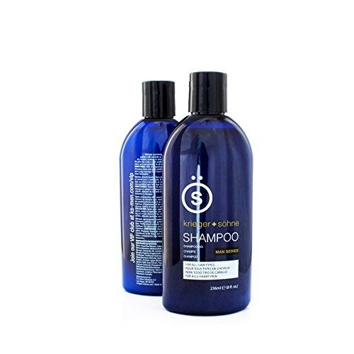 K + S Herren-Shampoo Profi Qualität - Mit Teebaumöl um Haarausfall, Schuppen und trockener Kopfhaut vorzubeugen (236ml)