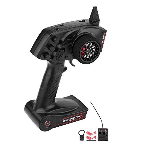 2,4 GHz 3CH Fernsteuerung, Radio Fernsteuerung Sender mit R6FG Gyro Empfänger für RC Auto Boot