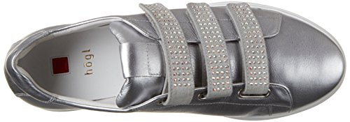 Högl Damen 3-10 3981 7600 Sneakers Silber (silber7600)