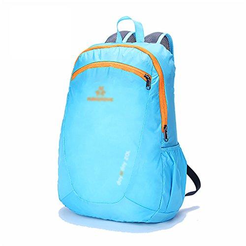 HWLXBB Outdoor Bergsteigen Tasche Männer und Frauen 20L Wasserdichte Mehrzweck-Bergsteigen Tasche Wandern Camping Bergsteigen Freizeit Rucksack Rucksack 4*