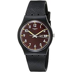 Swatch Reloj Digital de Cuarzo para Hombre con Correa de Silicona – GB753