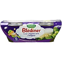 Blédina Blédîner Farandole de Légumes Verts/Boulghour 400 g -