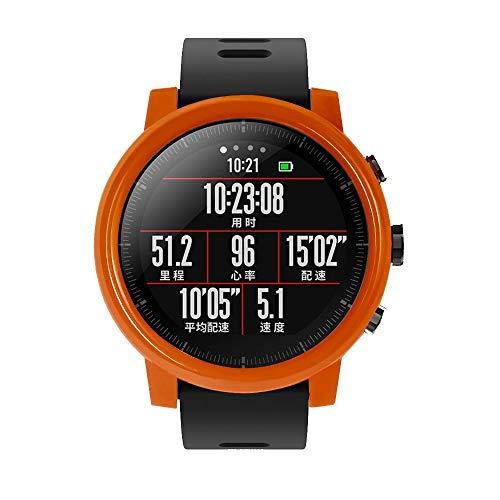 Vamoro Dünne PC-Hülle Schutzhülle für Huami Amazfit Stratos Smart Watch 2 / 2S(Rot)