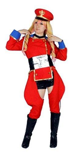 Nome Sheryl Kostüm - Set of 6 Cosplay Costume Macross F Sagittarius red M size Sheryl Nome luxury (japan import)