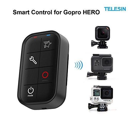 TELESIN Smart Wireless Fernbedienung Controller für Gopro Hero 4 Session/4/3 + Kameras (Fernbedienung Für Go Pro Hero 3)