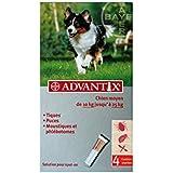 Advantix 4 pipetas desparasitantes para perros medianos (10 a 25 kg)