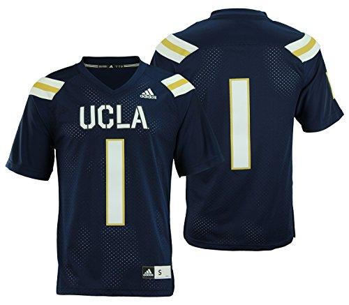 adidas NCAA Herren Premiere Fußball Jersey, Verschiedene Mannschaften, Herren, Navy, XX-Large -