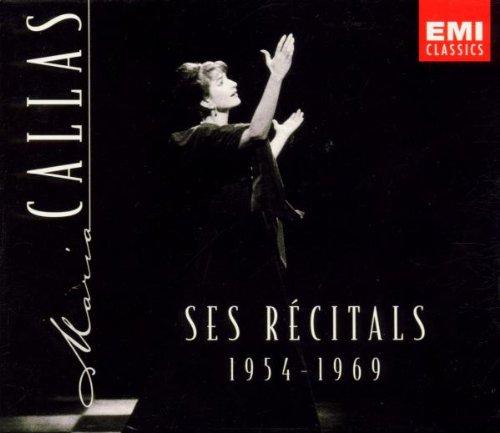 Callas - Ses récitals 1954 - 1969
