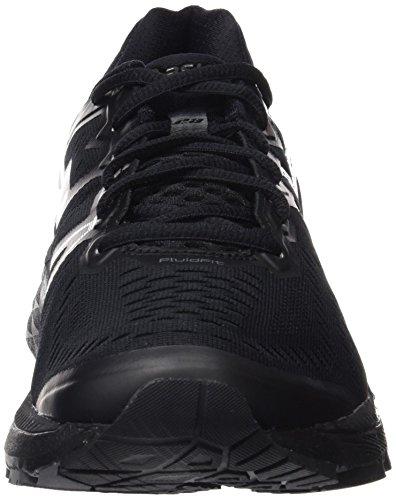Asics Kayano 23, Chaussures de Running Entrainement Homme Noir (Black/Noir Onyx/Carbon)