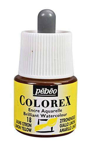 Colorex Aquarelltinte, PET, Zitronen/Gelb, 4.5 x 4.5 x 7 cm, 1 Einheiten