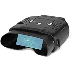 Prismáticos de visión nocturna con alcance de hasta 60m de noche y 400m de día, 6 aumentos