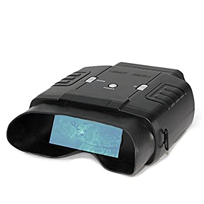Night Vision Binoculars - Night Vision up to 60 m and Day Vision up to 400 m - 6x Zoom