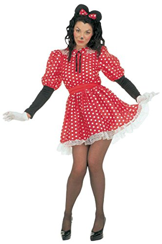Widmann 35033 - Erwachsenenkostüm Kleine Maus, Größe (Kostüm Minnie Maus Süßes)