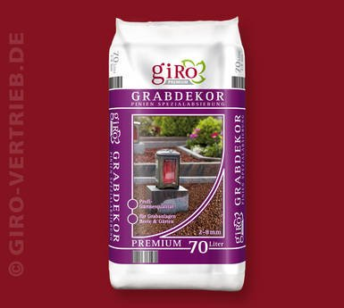 70 Liter Premium Grabdekor Pinienrinde Mulch Rindenmulch Dekorrinde Bodengrund 2-8 mm von giRo auf Du und dein Garten