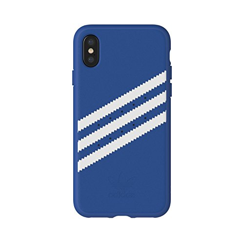 adidas Originals Stripes Case Handyhülle für Apple iPhone X - Blau/Weiß Blue/White