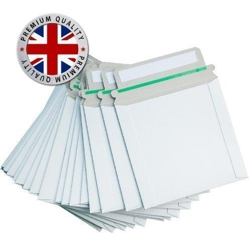 Preisvergleich Produktbild CD- / DVD-Versandtaschen / Versandkartons (140 x 135 mm, versiegelbar, 350 g/m2) 100 Stück
