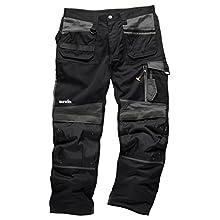 Scruffs T51999.63D TradeLong Trousers, Graphite, 36W 30L(Manufcature Size:50)