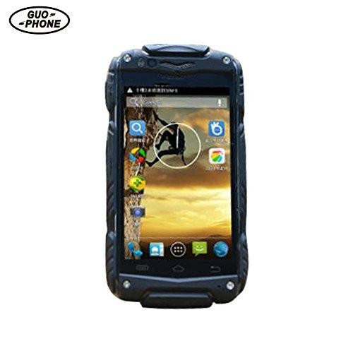 Pueri Guophone V8 Wasserdichtes schroffes Telefon Android 4.4 Dual Core 512 MB RAM 4,0 Zoll Dual Sim Outdoor Smartphone