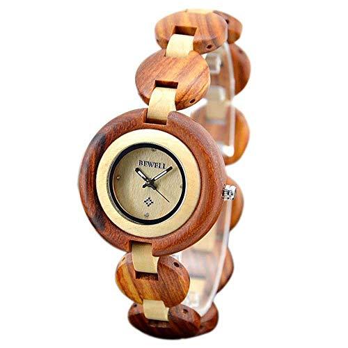 Umwelt Frauen Holz Uhr Mode Handwerk Souvenir Armband, B