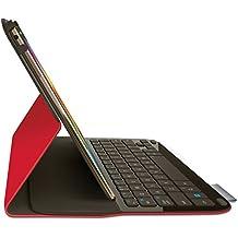 Logitech Type-S etui-folio con teclado AZERTY para Tablet Samsung Galaxy Tab S 10.5Rojo (no incluida)