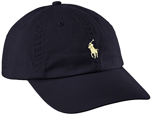 Ralph Lauren Sport Cap-hat, Casquette De Baseball Homme, Multicolore (Relay Blue/yellow A4ypp), Taille unique