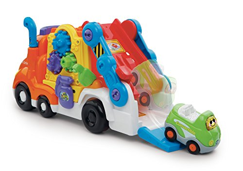 Image of VTech 189503 Baby Toot-Toot Drivers Refresh Car Carrier - Multi-Coloured