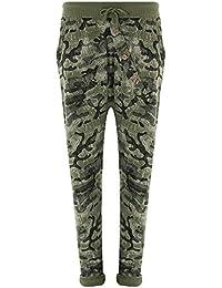 5b4b37151cd0ef FASHION YOU WANT Jogginghose Größe 36-50 Sweatpants Sterne Boyfriend Ali  Baba Style Anker Camouflage