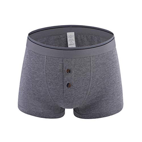 LSAltd Herren Hot Fashion Solid Bunte komfortable 109% Baumwolle Unterwäsche