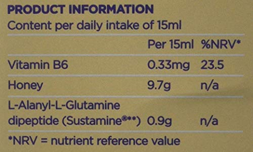 Natures Aid Benenox Food Supplement, Lemon and Ginger Flavour, 135 ml