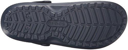Crocs Classic Lined Clog, Sabots Mixte Adulte Bleu (Navy/Charcoal)