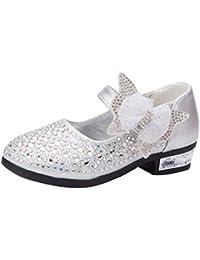 0f5655180e6fd Xmiral Chaussure Enfants Sandales Danse Princesse Filles Crystal Bling  Papillon