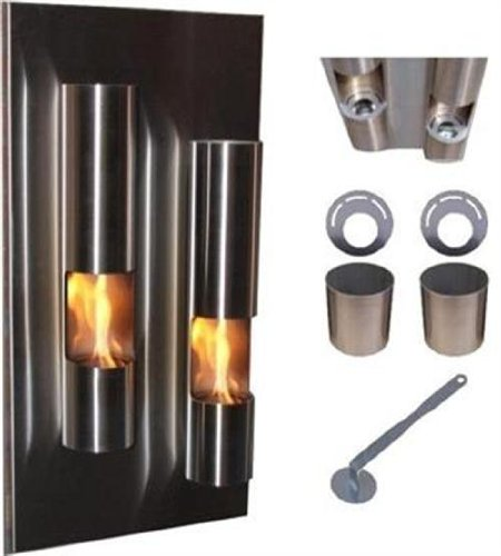 Gel-y-etanol-chimenea-Fire-Tower-chimenea-de-pared-chimenea-de-acero-inoxidable-40-x-80-x-18-cm