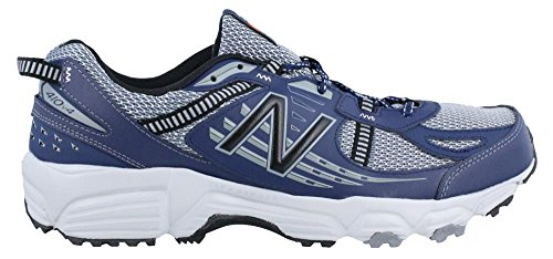 Men's New Balance, 410v4 Trail Running Shoes GREY BLUE 10 D GREY BLUE
