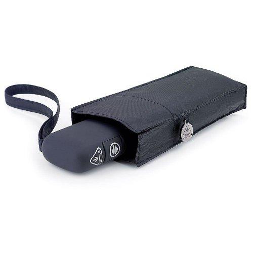 "Women ""Miniflat"" Auto Open&Close 101 Folding Regenschirm – Black"