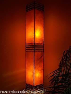 arabische lampe koutoubia orange 120cm beleuchtung. Black Bedroom Furniture Sets. Home Design Ideas