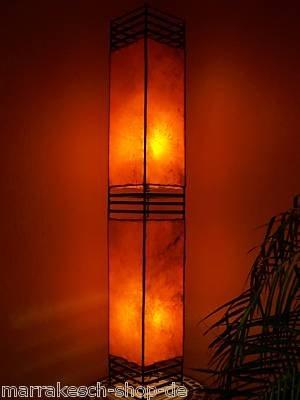 Arabische Lampe Koutoubia orange 120cm