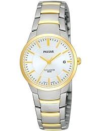 Pulsar Uhren Damen-Armbanduhr XS Modern Analog Titan PH7128X1