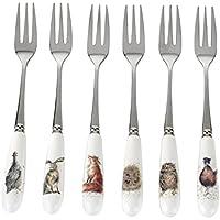 Wrendale Designs Juego de 6 Tenedores de Postre