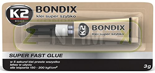 ZentimeX Sekundenkleber Klebstoff Kleber Kunststoff Holz Gummi Leder Keramik 3g 3g Leder