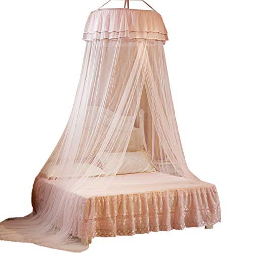 Vosarea Moskitonetz Bettvorhang für Betten Wiegen für Kinder Schlafzimmer Baby (Jade Farbe)